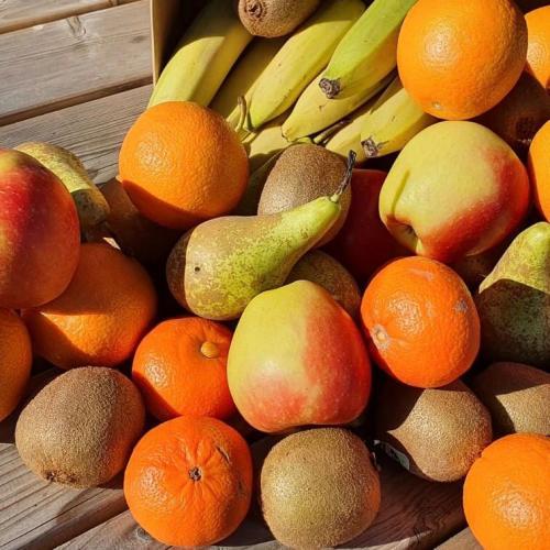 Fruitpakket voor u samengesteld